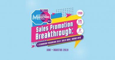 "Indonesia Marketeers Festival 2019 ""Sales Promotion Breakthrough"""